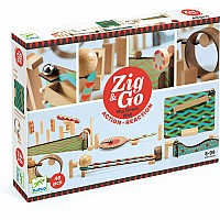 Zig & Go - 48 pcs Marble Run