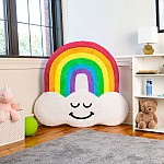 Rainbow Inflatable Floor Floatie