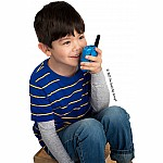 Retevis RT388 2 pcs Kids Walkie Talkies with Flashlight - Sky Blue