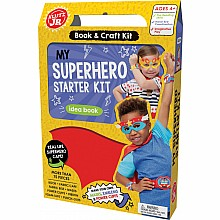 Klutz Jr: My Superhero Starter Kit Book & Craft Kit