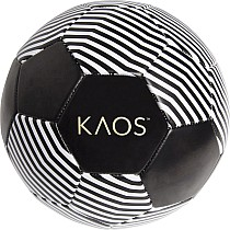 Theory Black Soccer Ball (Size 5)