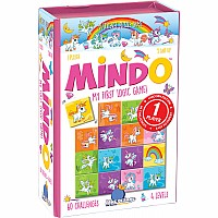 Blue Orange Mindo Logic Game - Unicorn