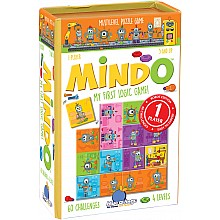 Blue Orange Mindo Logic Game - Robot