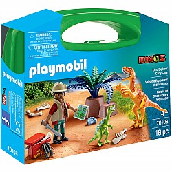 Playmobil Dinos Dino Explorer Carry Case