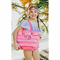 Inflatable Bubble Tote - Pink