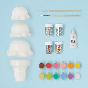 Paint your Own Ice Cream Cone