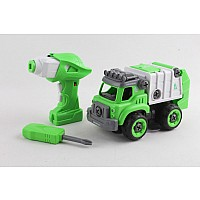 Power Driver City Squad Garbage Truck