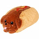 Squishable Dachshund Hot Dog 15""