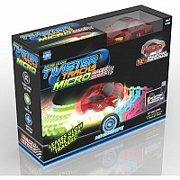 Neon Glow Twister Tracks Micro Race Series