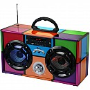 Mini Boom Box Retro