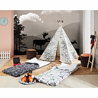 Around the World Play Tent - Black