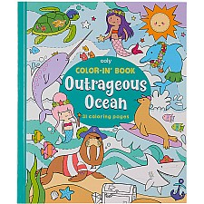 Color-In' Book - Outrageous Ocean