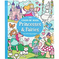 Color-In' Book - Princess & Fairies