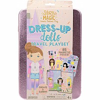 Story Magic Dress-Up Dolls Travel Playset