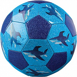 "Glitter Soccer Ball Size 3, 7"" - Shark City"