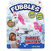 Fubbles® Bubble Unicorn