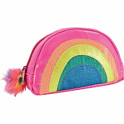Rainbow Small Cosmetic Bag