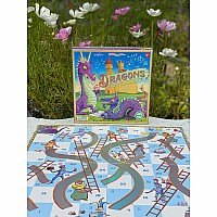Dragons Slips & Ladders Board Game