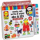 Ready, Set, Write & Wipe! ABC & 123