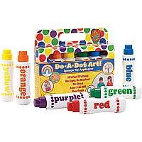 Rainbow Markers 6 Pack by Do-A-Dot-Art