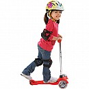 Mini Micro Kickboard Scooter- Red