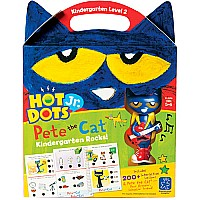 Hot Dots Jr. Pete the Cat Kindergarten Rocks!