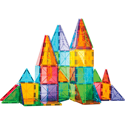 Magna-Tiles Clear Colors 32 pc - Play Matters Toys