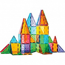 Magna-Tiles Clear Colors 100 pc