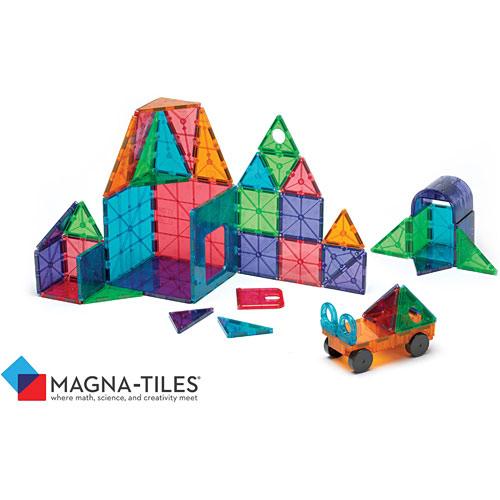Magna Tiles Clear Colors 48 Pc Dx Set Play Matters Toys
