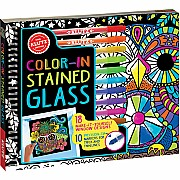 Color-In Stained Glass