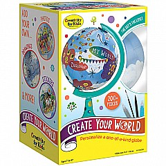 Create Your World Globe