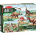 Dinosaurs 48 pc Floor Puzzle