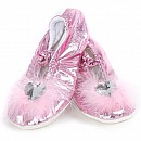 Princess Slippers- Pink - Small Size