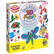 Sparkling 3-D Paint Activity Kit