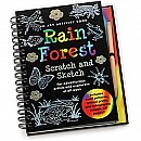 Scratch and Sketch Rain Forest