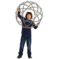 Hoberman Sphere Rainbow by John Hansen