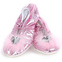 Pink Princess Slippers (Med)
