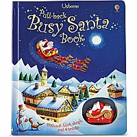 Pull Back Busy Santa Book