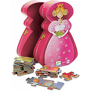 36 pc The Princess and her Frog Puzzle
