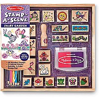 Stamp-A-Scene Fairy Garden by Melissa & Doug