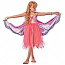 Fantasy Dress w/Pink Butterfly wings