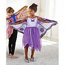 Fantasy Dress w/Purple Butterfly wings