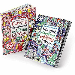 Drawing, Doodling and Coloring for Girls