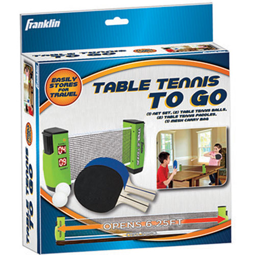 Franklin Table Tennis To Go By Franklin Sports On Barstons