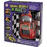 Shake Rattle N Roll Car Red