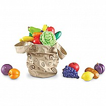 Fresh Picked Fruit & Veggie Tote