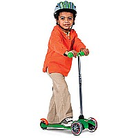 Mini Kickboard Scooter - Green