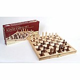 "15"" Wood Chess Set"
