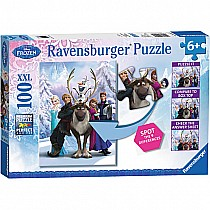 100 pc Disney's The Frozen Difference Puzzle