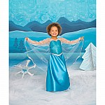 Ice Crystal Queen Gown - Medium